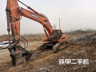 保定斗山DH500LC-7挖掘機實拍圖片