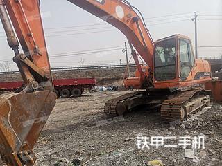 河北-邢台市二手斗山DH220LC-7挖掘机实拍照片
