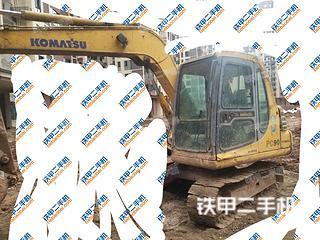 達州小松PC60-7挖掘機實拍圖片