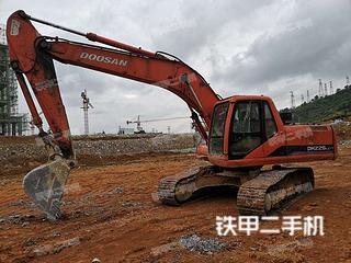贵州-黔南布依族苗族自治州二手斗山DH220LC-V挖掘机实拍照片