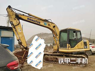 保定小松PC130-7挖掘機實拍圖片