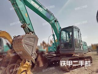 云南-昆明市二手神钢SK130-8挖掘机实拍照片