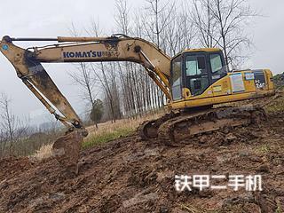 湖北-天门市二手小松PC200-7挖掘机实拍照片