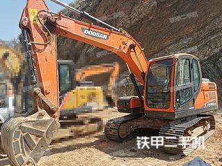 云南-昆明市二手斗山DX130-9C挖掘机实拍照片