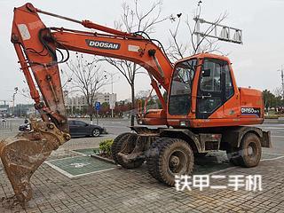 江苏-南京市二手斗山DH130W-V挖掘机实拍照片