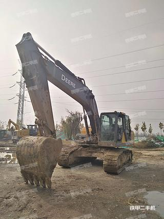 陕西-咸阳市二手约翰迪尔E210LC挖掘机实拍照片