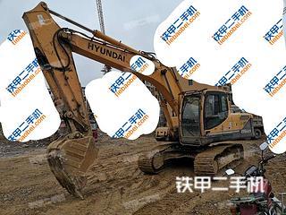 贵州-黔东南苗族侗族自治州二手现代R215-9C挖掘机实拍照片