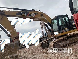 云南-文山壮族苗族自治州二手卡特彼勒326D2L液压挖掘机实拍照片