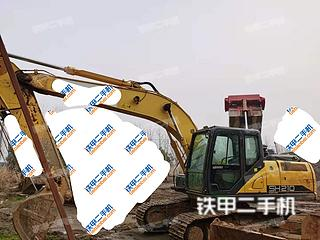 湖北-武汉市二手住友SH210-6挖掘机实拍照片
