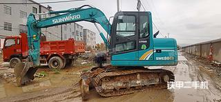 江西-景德镇市二手山河智能SWE80E9挖掘机实拍照片