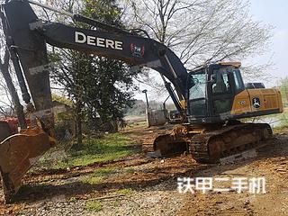 湖北-武汉市二手约翰迪尔E210挖掘机实拍照片