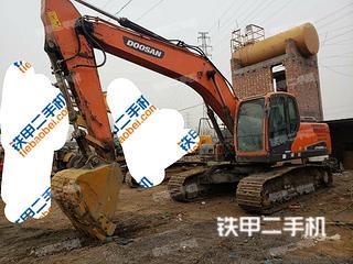 河南-郑州市二手斗山DX225LC-9C挖掘机实拍照片