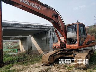 贵州-毕节市二手斗山DH220LC-V挖掘机实拍照片