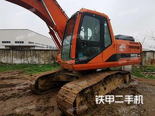安徽-安庆市二手斗山DH215-9E挖掘机实拍照片