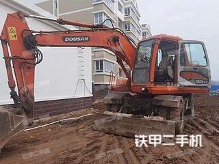 秦皇島斗山DH150W-7挖掘機實拍圖片