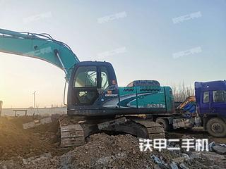 保定神鋼SK260LC-8挖掘機實拍圖片