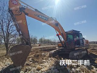 北京三一重工SY365H挖掘機實拍圖片