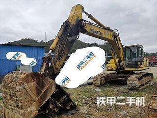 贵州-黔东南苗族侗族自治州二手小松PC240LC-8挖掘机实拍照片