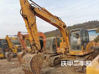 昆明雷沃重工FR150挖掘机实拍图片