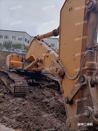 重庆-重庆市二手现代R455LC-7挖掘机实拍照片