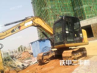 湖南-湘潭市二手卡特彼勒307E2小型液压挖掘机实拍照片