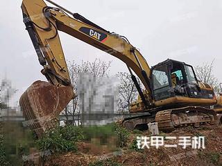 贵州-贵阳市二手卡特彼勒324D挖掘机实拍照片