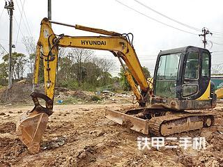 江西-南昌市二手现代R55-7挖掘机实拍照片