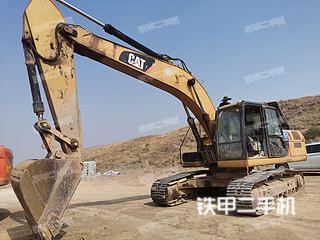 云南-曲靖市二手卡特彼勒326DL挖掘机实拍照片