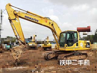 湖南-郴州市二手小松PC200-8挖掘机实拍照片