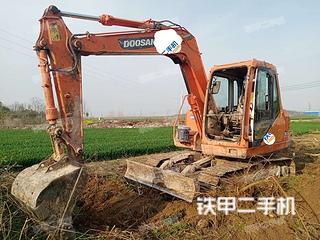 河南-周口市二手斗山DH80GOLD挖掘机实拍照片