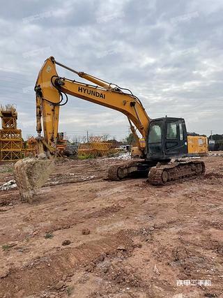 浙江-金华市二手现代R225LC-7挖掘机实拍照片