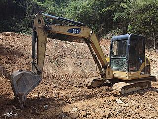 二手卡特彼勒挖掘机左前45实拍图161