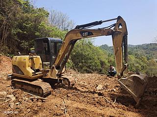 二手卡特彼勒挖掘机右前45实拍图162