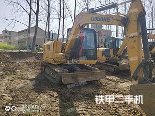 柳工CLG908E挖掘機實拍圖片