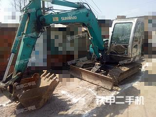 安徽-蚌埠市二手山河智能SWE70H挖掘机实拍照片