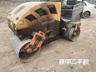 陕西-咸阳市二手山东公路机械厂YZC13压路机实拍照片