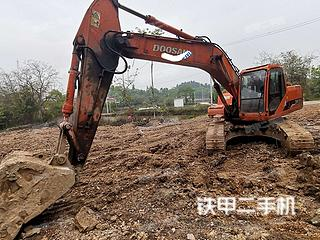 广西-桂林市二手斗山DH220LC-7挖掘机实拍照片