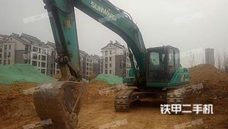 山东-泰安市二手山河智能SWE215E挖掘机实拍照片