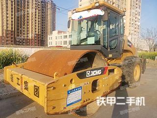 安徽-阜阳市二手徐工XS223JE压路机实拍照片