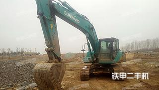 山东-泰安市二手山河智能SWE215E-3H挖掘机实拍照片