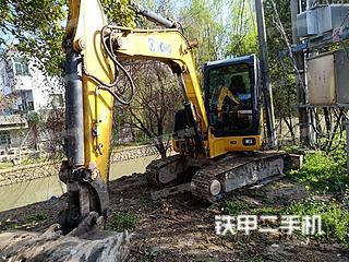 常州徐工XE60CA挖掘機實拍圖片
