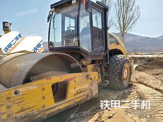甘肃-庆阳市二手厦工XG6204M压路机实拍照片