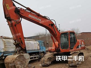 河北-石家庄市二手斗山DH220LC-7挖掘机实拍照片