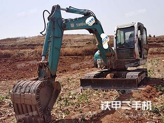 云南-大理白族自治州二手山河智能SWE70N9挖掘机实拍照片