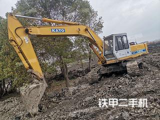 加藤HD900挖掘机实拍图片