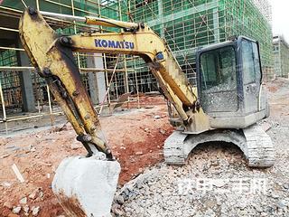 江西-抚州市二手小松PC56-7挖掘机实拍照片