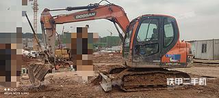 斗山DX75-9C挖掘機實拍圖片