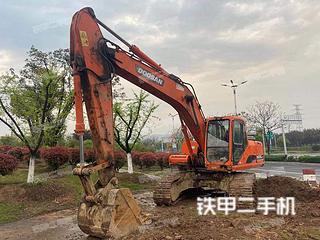 浙江-金华市二手斗山DH225LC-7挖掘机实拍照片