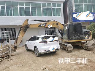 湖南-长沙市二手卡特彼勒313D2GC小型液压挖掘机实拍照片