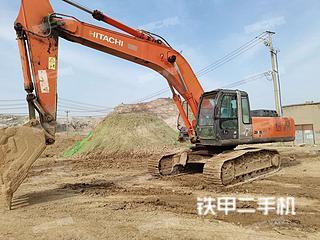 日立ZX350H-3G挖掘機實拍圖片